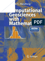 Computational Geosciences With Mathematica [William C. Haneberg, 2004] @Geo Pedia