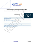 14th Finance Commission VISION IAS