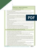 7. Checklist Incineration