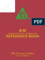 BM Homoeopathic Medicines Reference Book