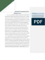 Los Árboles No Hablan, Análisis Del Proceso de Subalternización (Rafael García)