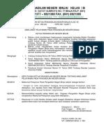 Maklumat Pelayanan Pada Pengadilan Negeri Binjai