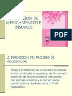 Adquisiciones de Medicamentos