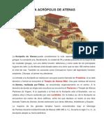 La Acrópolis de Atenas - Resumen