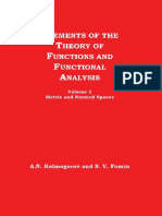 A.N.  Kolmogorov,  S.V. Fomin-Elements of the Theory of Functions and Functional Analysis, Volume 1, Metric and Normed Spaces-GRAYLOCK PRESS (1963).pdf