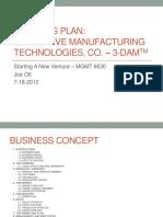 Joe O Business Plan.pptx