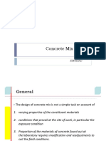 Mix Design Concrete Indian and ACI code PPT