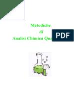 metodiche analisi quantitativa