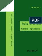Ciencias Naturales y Agropecuarias