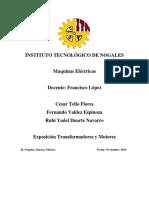 Exposicion Motores y Transformadores