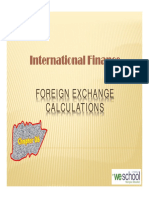 Forward Rate Calculation