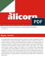 ALICORP 2016-Tema-3-1, Estrategias de Emisores de Deuda 2
