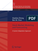 Stock Market Modeling and Forecasting, Chen
