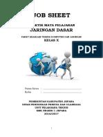 Jobsheet X TKJ Jaringan Dasar V2.0