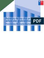 Balance-2016.03 Gobierno Bachelet