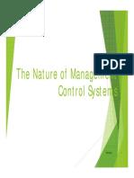 Managemen Control System Chp 1