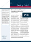 Toward a Transatlantic Approach to Technology Transfers to China