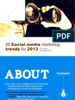 26 Social Media Marketing Trends for 2013 121220195421 Phpapp02
