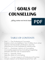 The Goals of Counselling