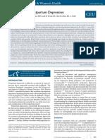 Management of Postpartum Depression