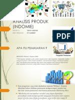 ANALISIS PRODUK (INDOMIE)