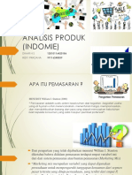ANALISIS PRODUK (INDOMIE)