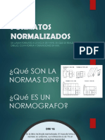 FORMATOS NORMALIZADOS