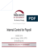 CVIOG Payroll Internal Controls