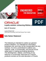 Oracle Loyalty