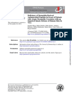 Deficiency ofDermcidin-Derived Antimicrobial Peptides in Sweat of Patients With Atopic Derm