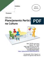 Oficina Planejamento Participativo