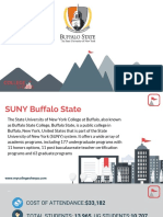 Study Abroad at SUNY Buffalo State, Admission Requirements, Courses, Fees