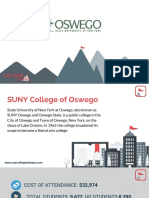 Study Abroad at SUNY College of Oswego, Admission Requirements, Courses, Fees