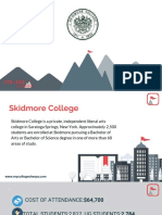 Study Abroad at Skidmore College, Admission Requirements, Courses, Fees