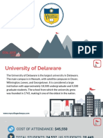 Study Abroad at University of Delaware, Admission Requirements, Courses, Fees