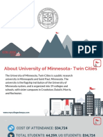 Study Abroad at  University of Minnesota- Twin Cities, Admission Requirements, Courses, Fees