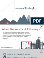 Study Abroad at  University of Pittsburgh, Admission Requirements, Courses, Fees