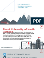 Study Abroad at  University of North Carolina, Admission Requirements, Courses, Fees