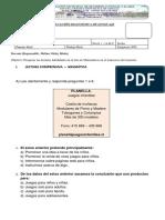 Evaluación Diagnostica de Lenguaje