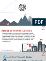 Study Abroad at Wheaton College, Admission Requirements, Courses, Fees