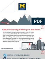 Study Abroad at  University of Michigan, Ann Arbor, Admission Requirements, Courses, Fees