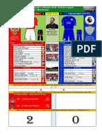 PL 170826 omgång 3 Manchester United - Leicester 2-0