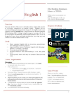 academic english 1 syllabus - fall 2017