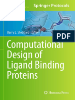 Computational Design of Ligand Binding Proteins