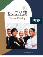2011 Course Catalog