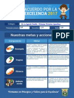 Acuerdo Por La Excelencia 2017-2