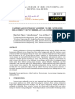 Earthquake Response of Modified Folded Cantilever Shear Structure With Fixe