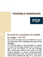 Voidable Marriages Nov 2016