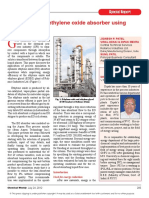 FY13 July - Chemical Weekly India - Optimization of Ethylene Oxide Absorber Using Aspen Plus-signed(1)