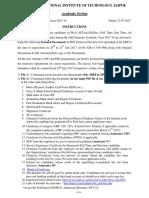 Instructions PG PhD